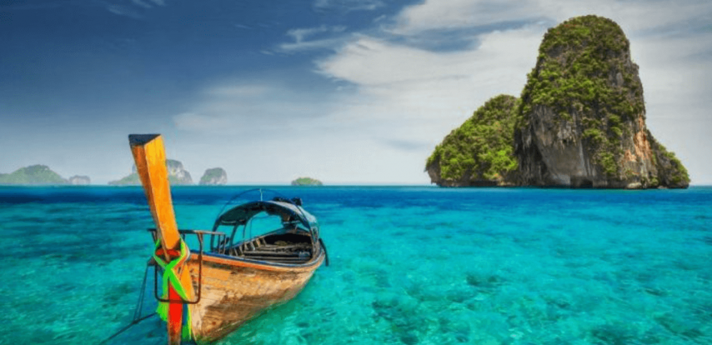 Railay Beach Thailand, Krabi